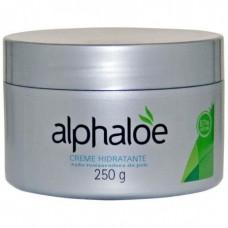 CREME HIDRATANTE ALOE VERA (87% Babosa) 250 gr ALPHALOE