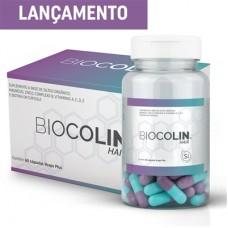 BIOCOLIN HAIR 500 mg com 60 cápsulas CENTRAL NUTRITION com silício orgânico